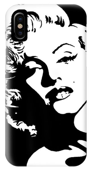 Beautiful Marilyn Monroe Original Acrylic Painting IPhone Case