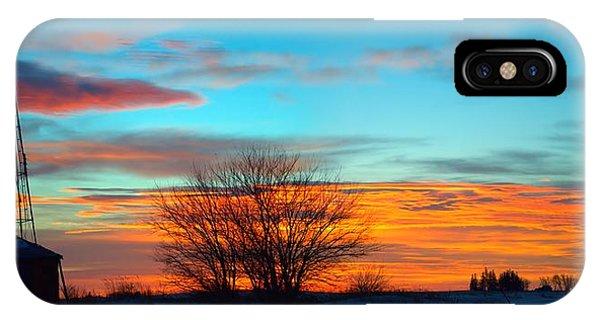 Beautiful Mornin' Panorama IPhone Case