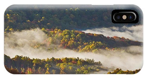 Beautiful Morning In The Hills... IPhone Case