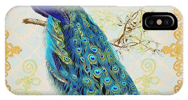 Beautiful Peacock-b IPhone Case