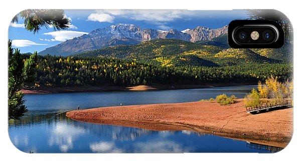 Beautiful Pikes Peak At Crystal  IPhone Case