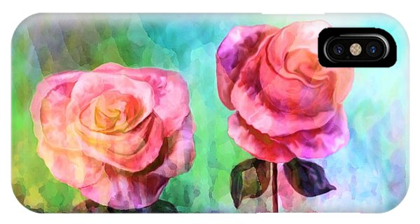 Beautiful Pink Roses IPhone Case