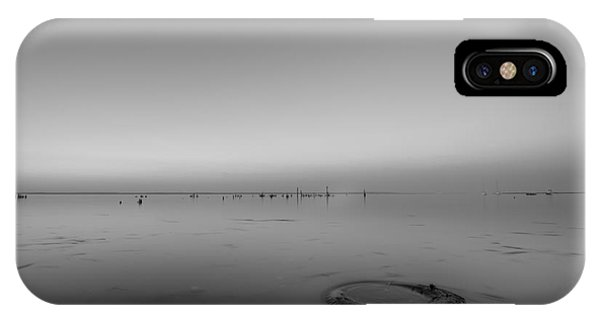 Port Orange iPhone Case - Beautiful Pollution Bw by Michael Ver Sprill