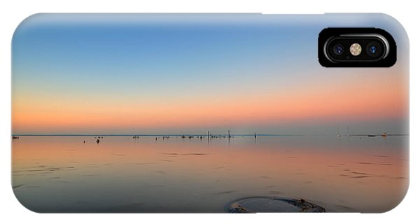 Port Orange iPhone Case - Beautiful Pollution  by Michael Ver Sprill