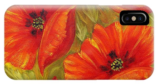 Beautiful Poppies IPhone Case