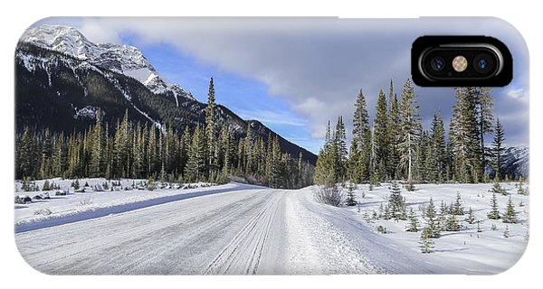 Banff iPhone Case - Beautiful Ride by Evelina Kremsdorf