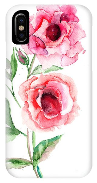 Beautiful Roses Flowers IPhone Case