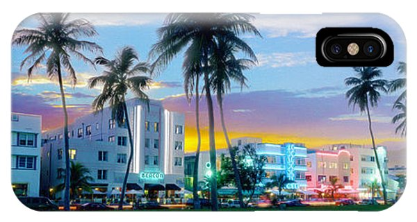Miami Skyline iPhone Case - Beautiful South Beach by Jon Neidert