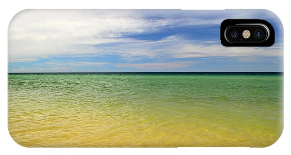 iPhone Case - Beautiful St George Island Water by Holden Parker