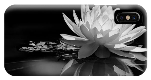 Beautiful Water Lily Reflections IPhone Case