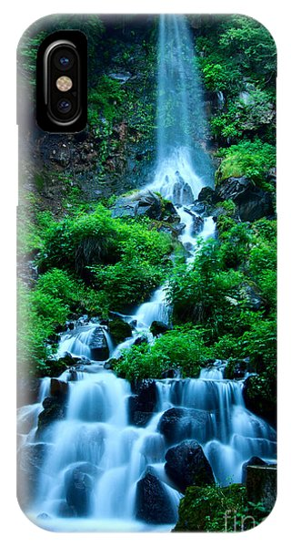Beautiful Waterfalls In Karuizawa Japan IPhone Case