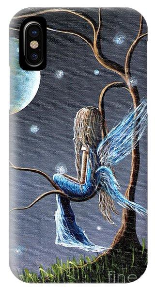 Fairy iPhone Case - Fairy Art Print - Original Artwork by Shawna Erback