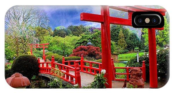Beautiful Zen Garden IPhone Case