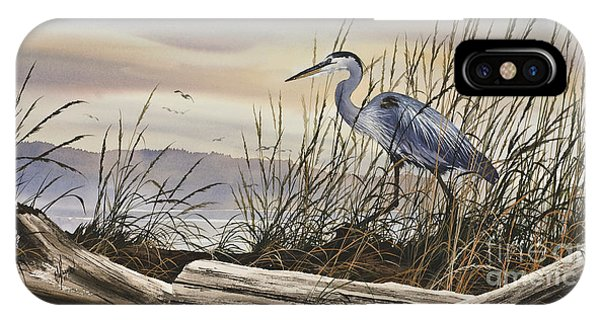 Heron iPhone Case - Beauty Along The Shore by James Williamson