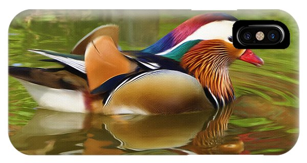 Wood Ducks iPhone Case - Beauty In The Pond by Inspirowl Design