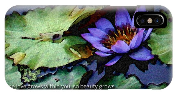 Beauty Of The Soul IPhone Case