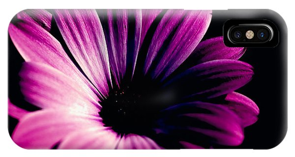 Beauty On The Black #2 IPhone Case