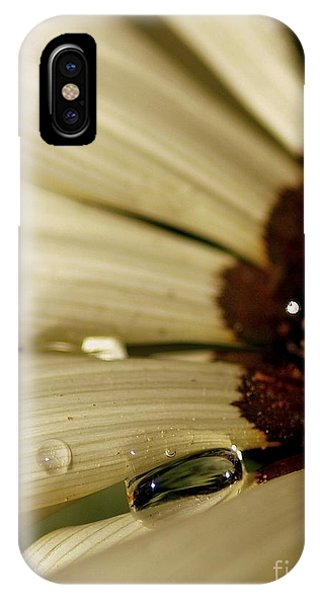 Beauty Within A Rain Drop IPhone Case
