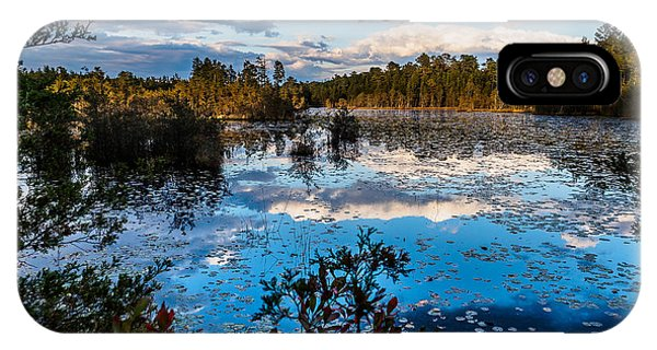 Beaver Pond - Pine Lands Nj IPhone Case