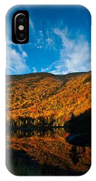 Beaver Pond White Mountain National Forest IPhone Case