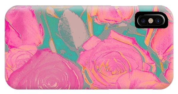 Bed Of Roses I IPhone Case