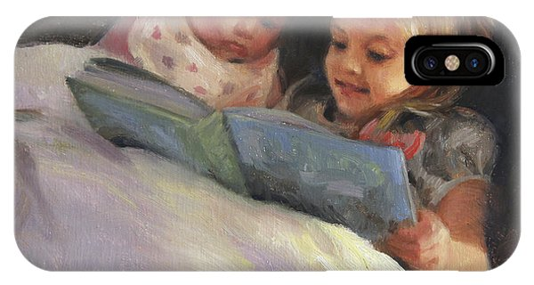 Sister iPhone Case - Bedtime Bible Stories by Anna Rose Bain