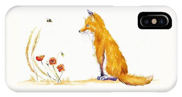 Bee A Summer Fox IPhone Case