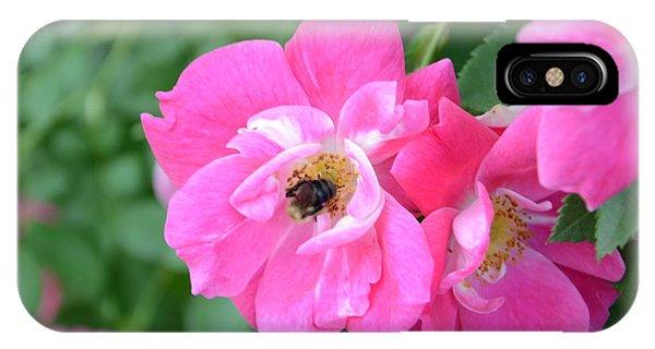 Bee Rosy IPhone Case