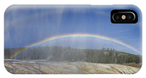 Beehive's Double  Rainbow IPhone Case