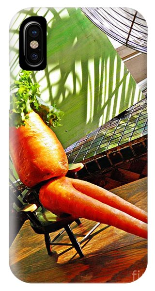 Beer Belly Carrot On A Hot Day IPhone Case