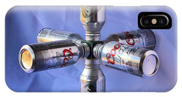 Beer Cans Space Station Phone Case by Viktor Savchenko