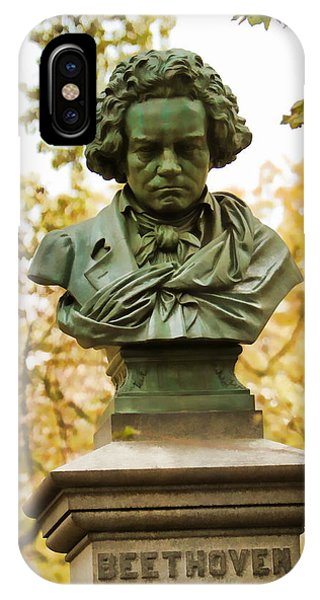 Beethoven In Central Park IPhone Case