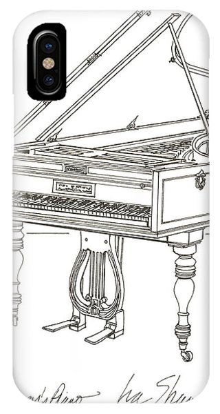 Beethoven's Broadwood Grand  Piano IPhone Case