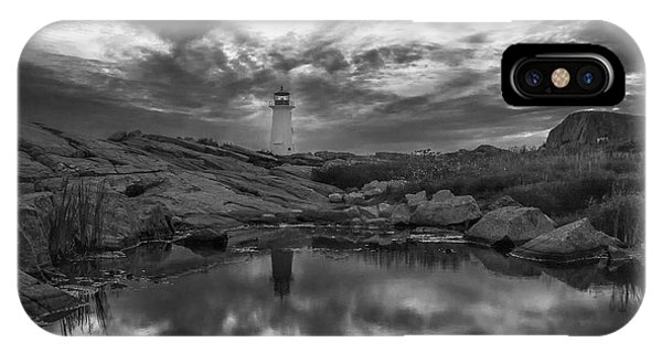 Before Dawn Bw IPhone Case