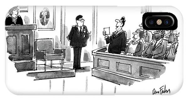 Before I Read Our Verdict IPhone Case