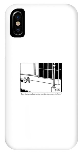 Before Kindergarten IPhone Case