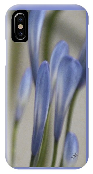 Before - Lily Of The Nile IPhone Case