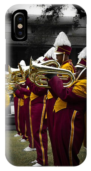 Before The Brass Band Parade IPhone Case