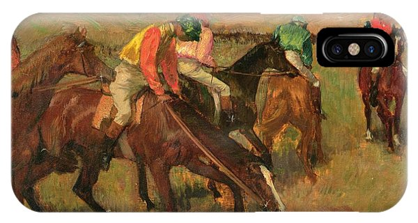 Before The Races IPhone Case