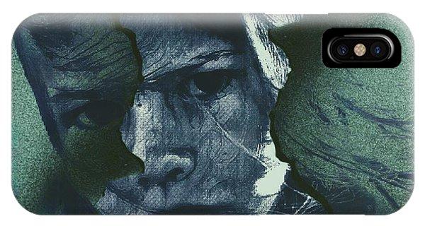 Sketch iPhone Case - Beginnings( Portrait ) by Dalibor Davidovic