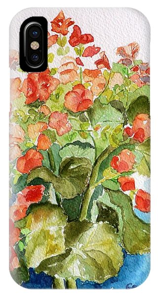 Begonias Still Life IPhone Case