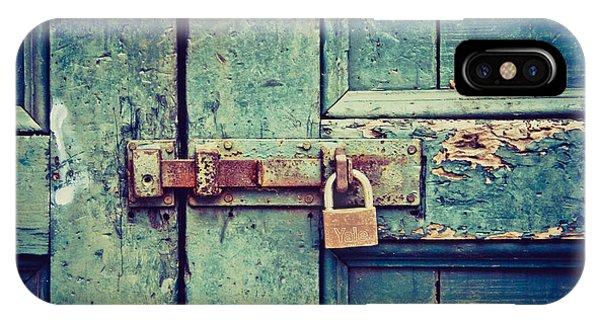Behind The Blue Door IPhone Case