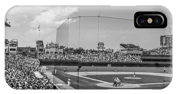 Behind The Plate In Wrigley IPhone Case