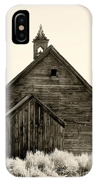 Behind The Steeple By Diana Sainz IPhone Case