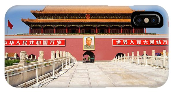 Forbidden City iPhone Case - Beijing Forbidden City. by Mark Williamson/science Photo Library