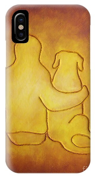Being There 2 - Dog And Friend IPhone Case