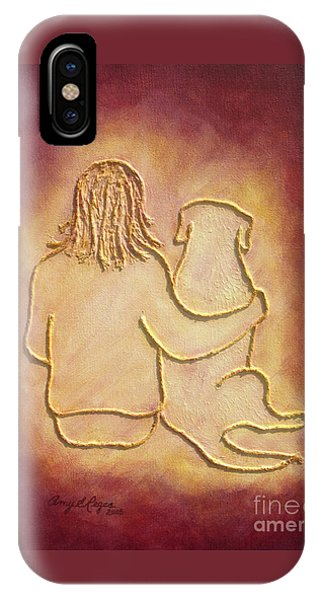 Being There 3 - Dog And Friend IPhone Case