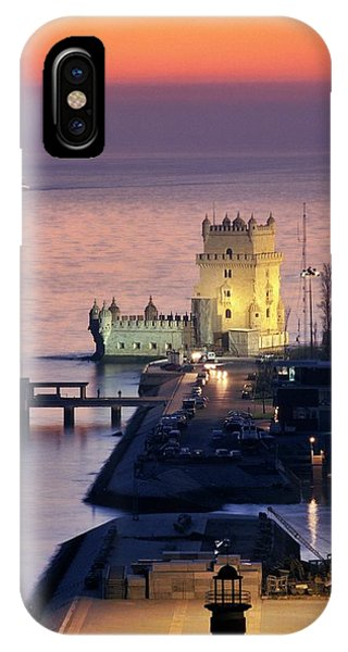 Port Orange iPhone Case - Belem Tower by Patrick Landmann/science Photo Library
