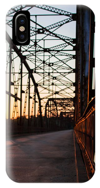 Belford Bridge At Sunset IPhone Case