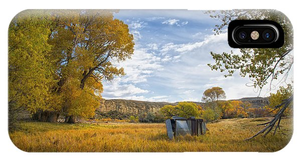 Belfry Fall Landscape IPhone Case